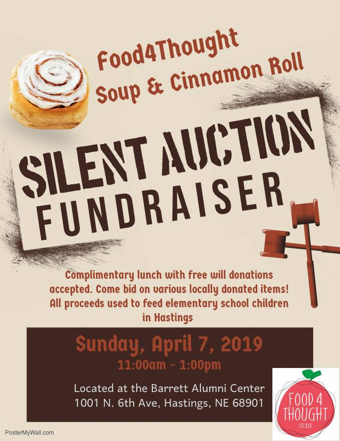 Food4Thought Silent Auction — Inspired By Hastings
