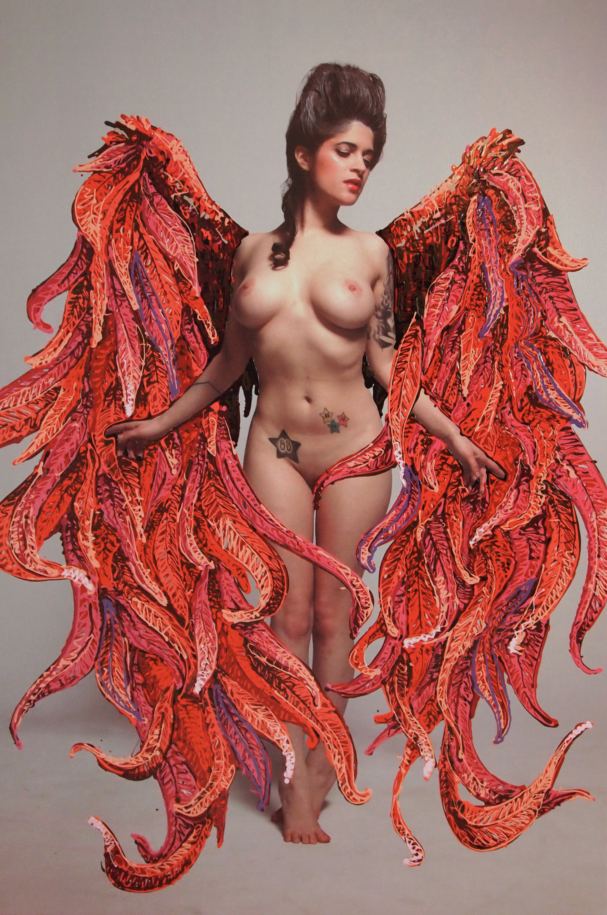 2013 red bull gives you wings acrylic and photo on canvas 48x72.jpg