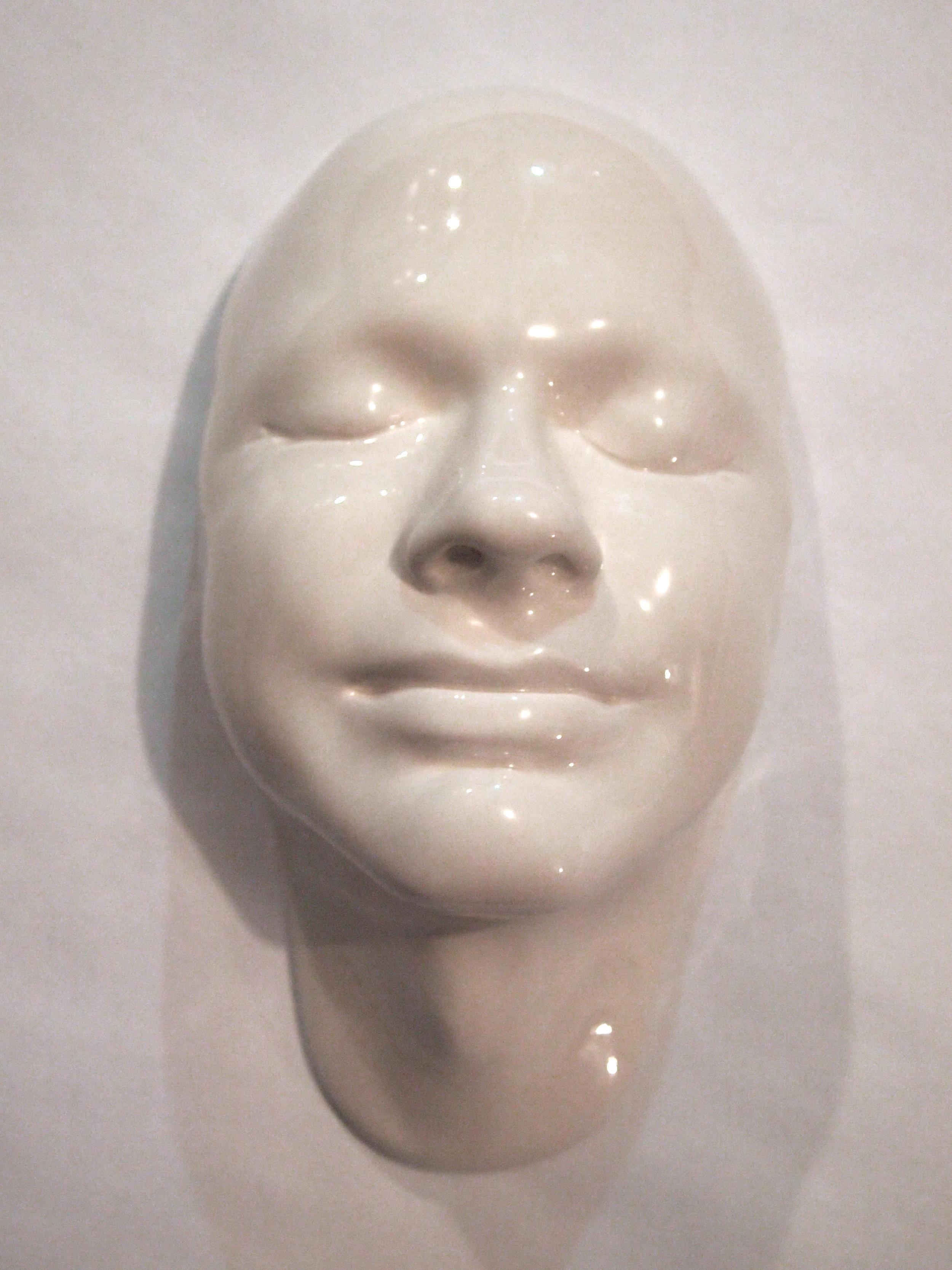 Craig Paul Nowak ceramic face art