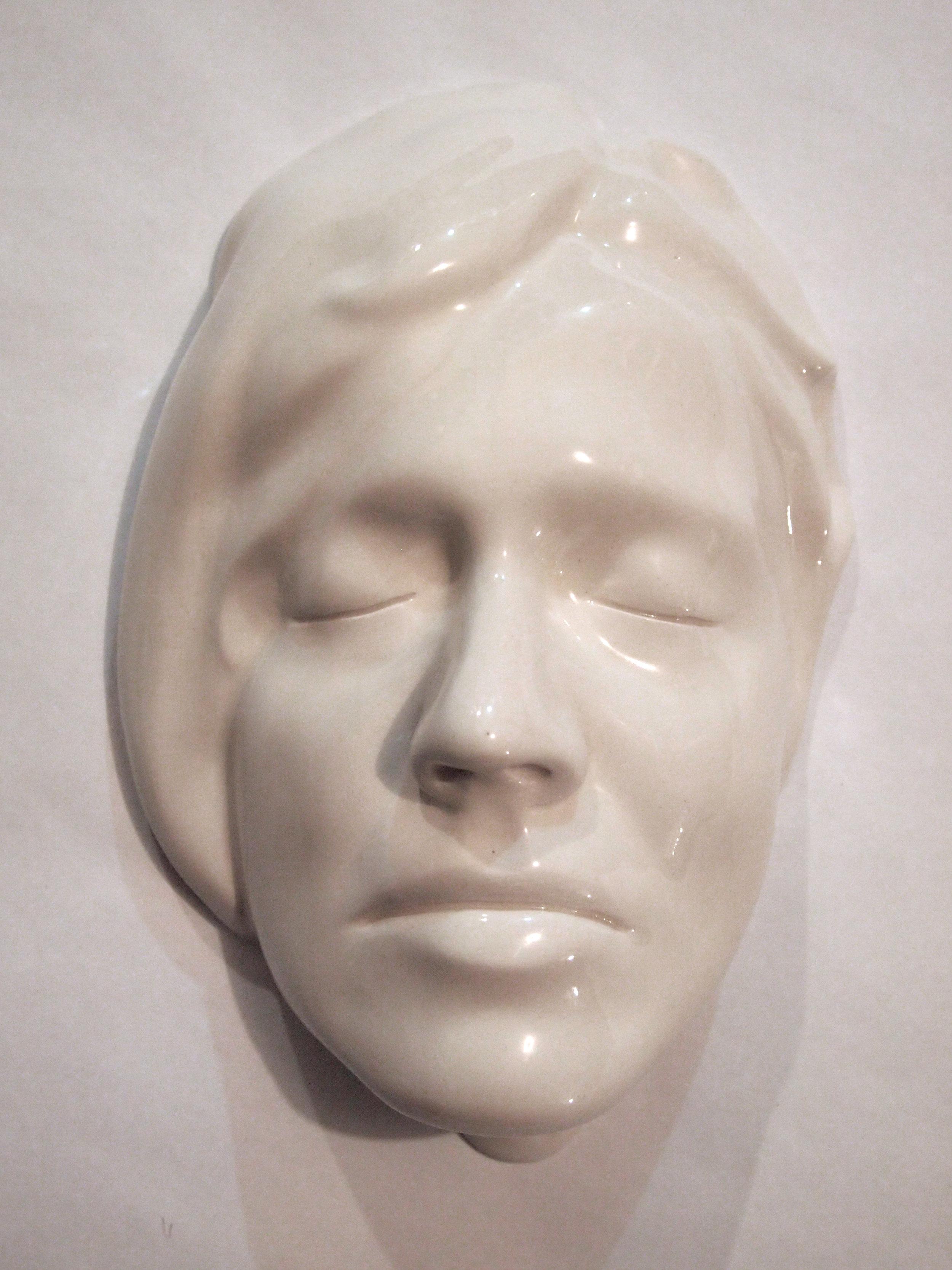 Craig Paul Nowak ceramic face art sculpture alexandra
