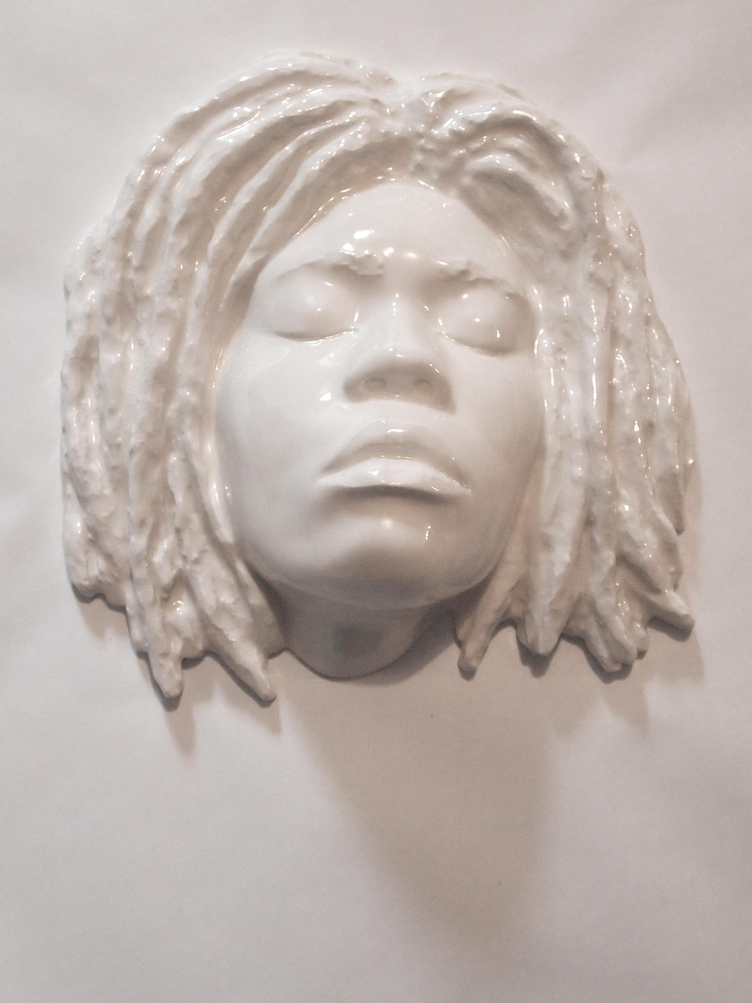 Craig Paul Nowak art ceramic face sculpture