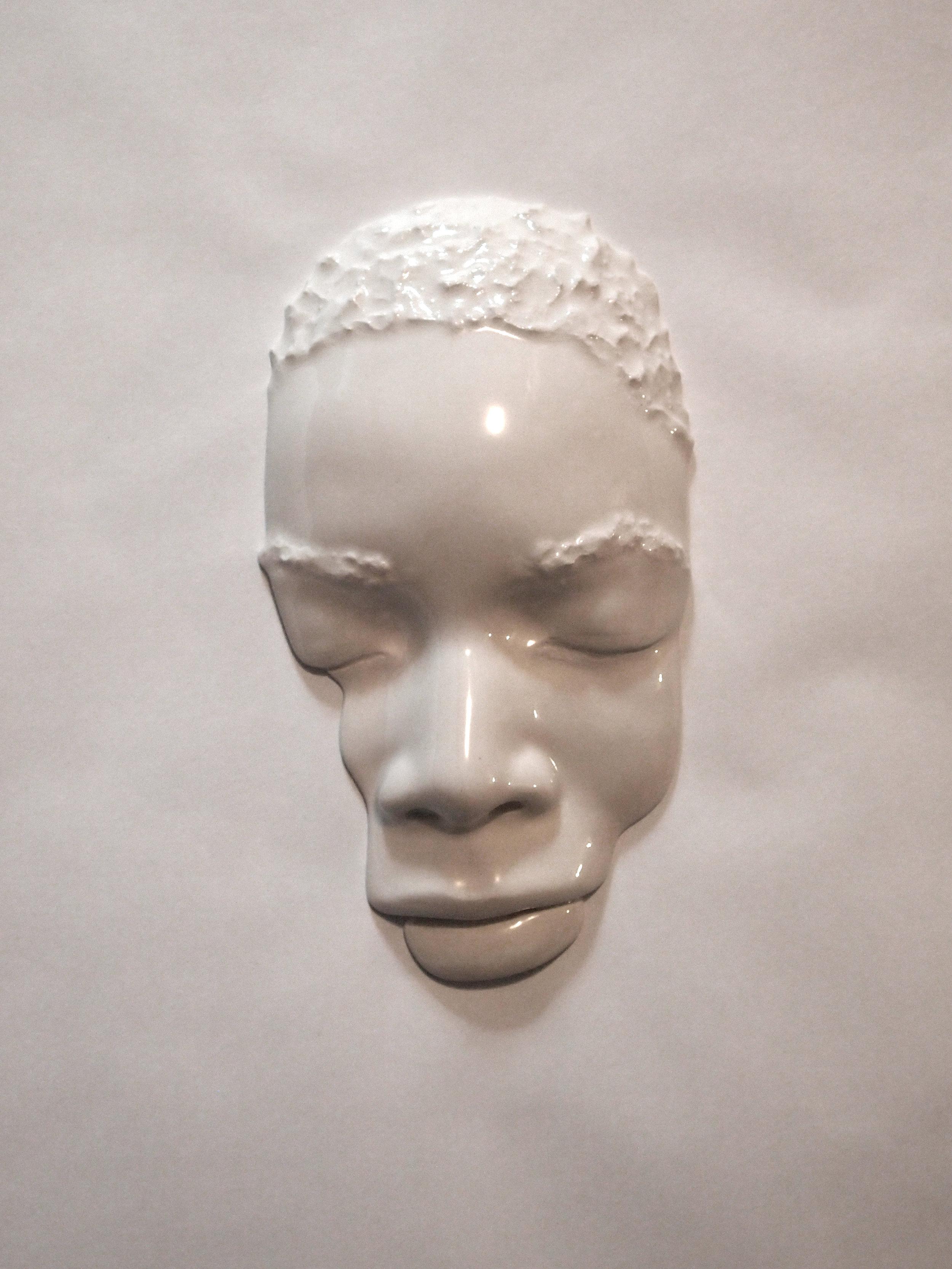 Craig Paul Nowak art sculpture face