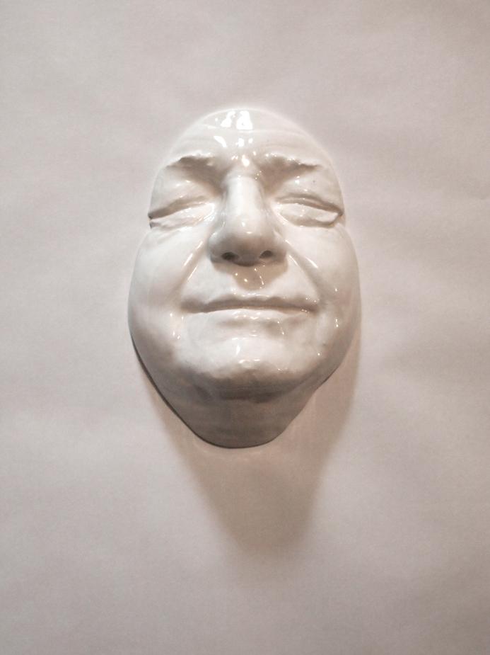 Craig Paul Nowak art face sculpture