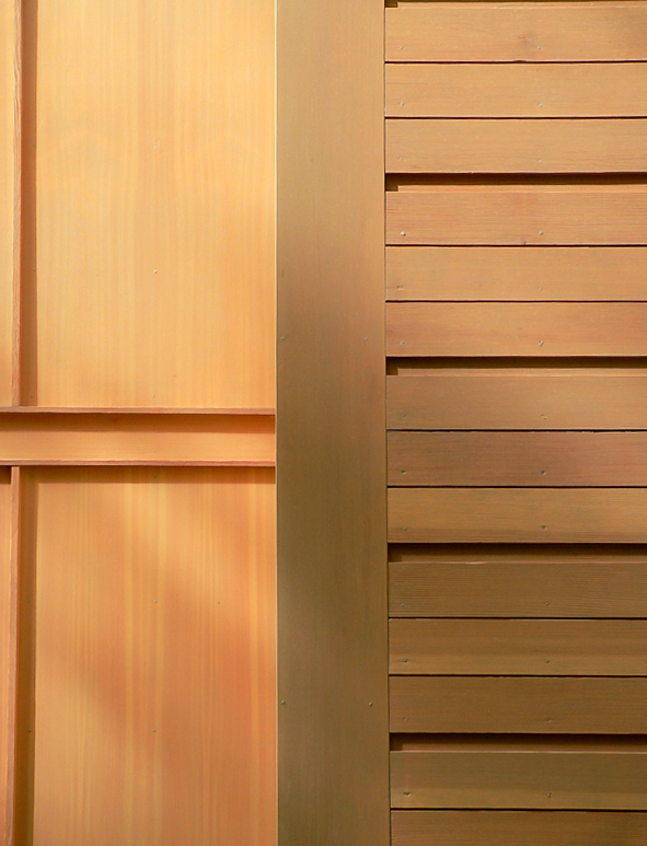 exterior siding detail