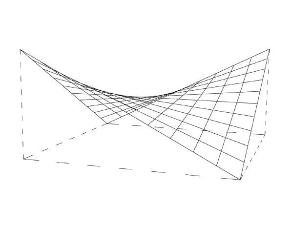 Hyperbolic-paraboloid