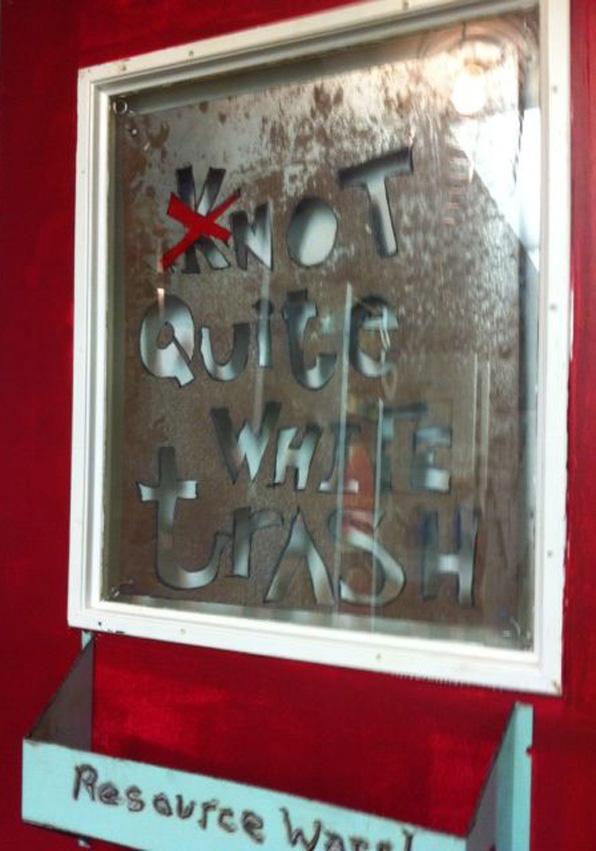 RW NQWT sign