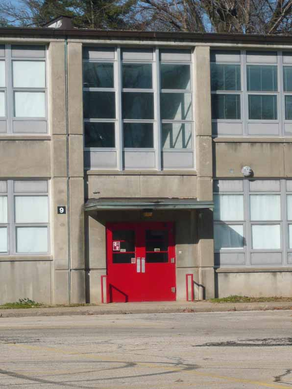 Waggener High School, side entrance