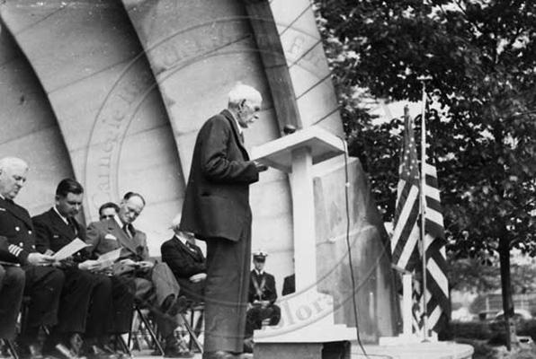 1937 Bandshell with speaker