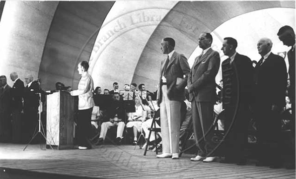 1951 Bandshell concert