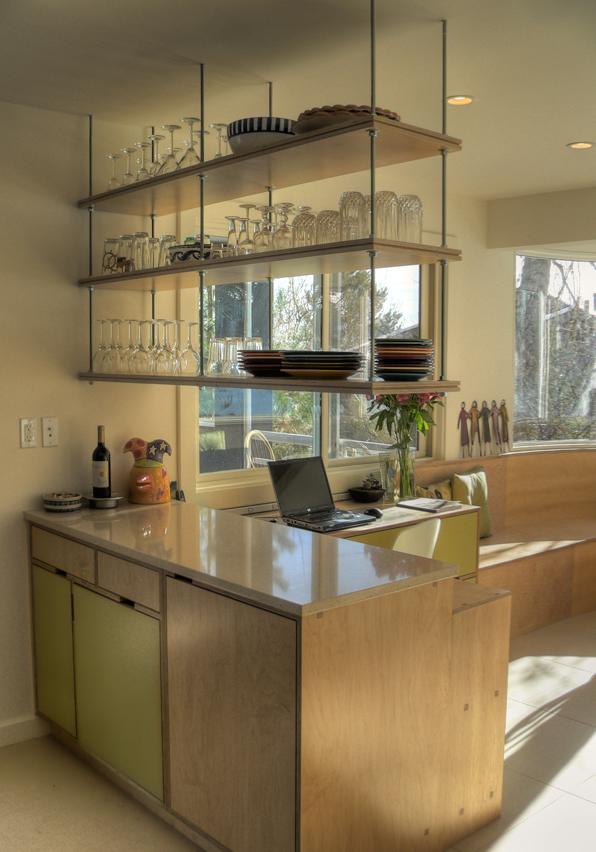 hanging kitchen shelves