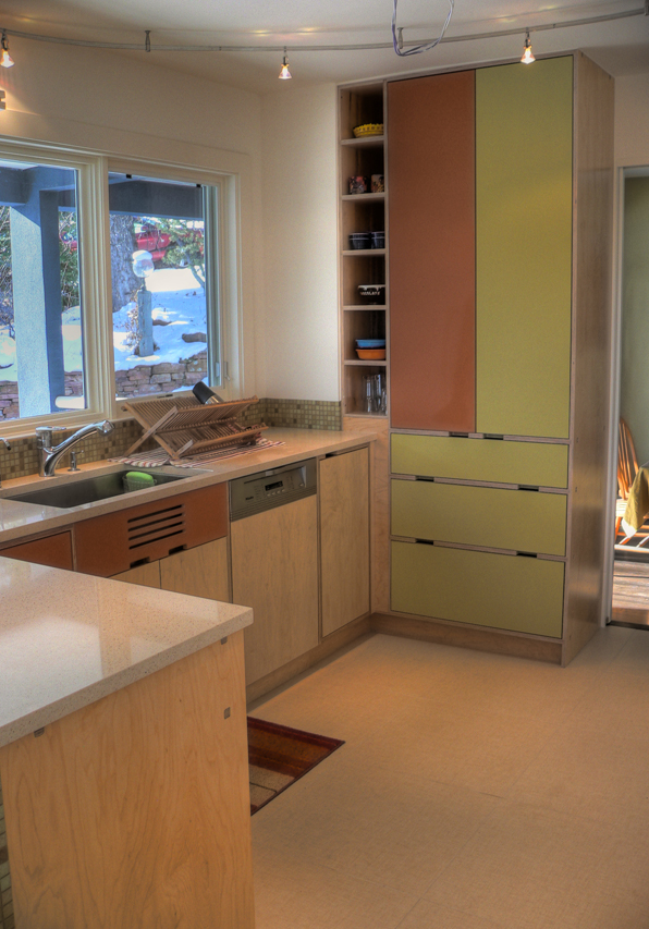 kitchen cleaning area