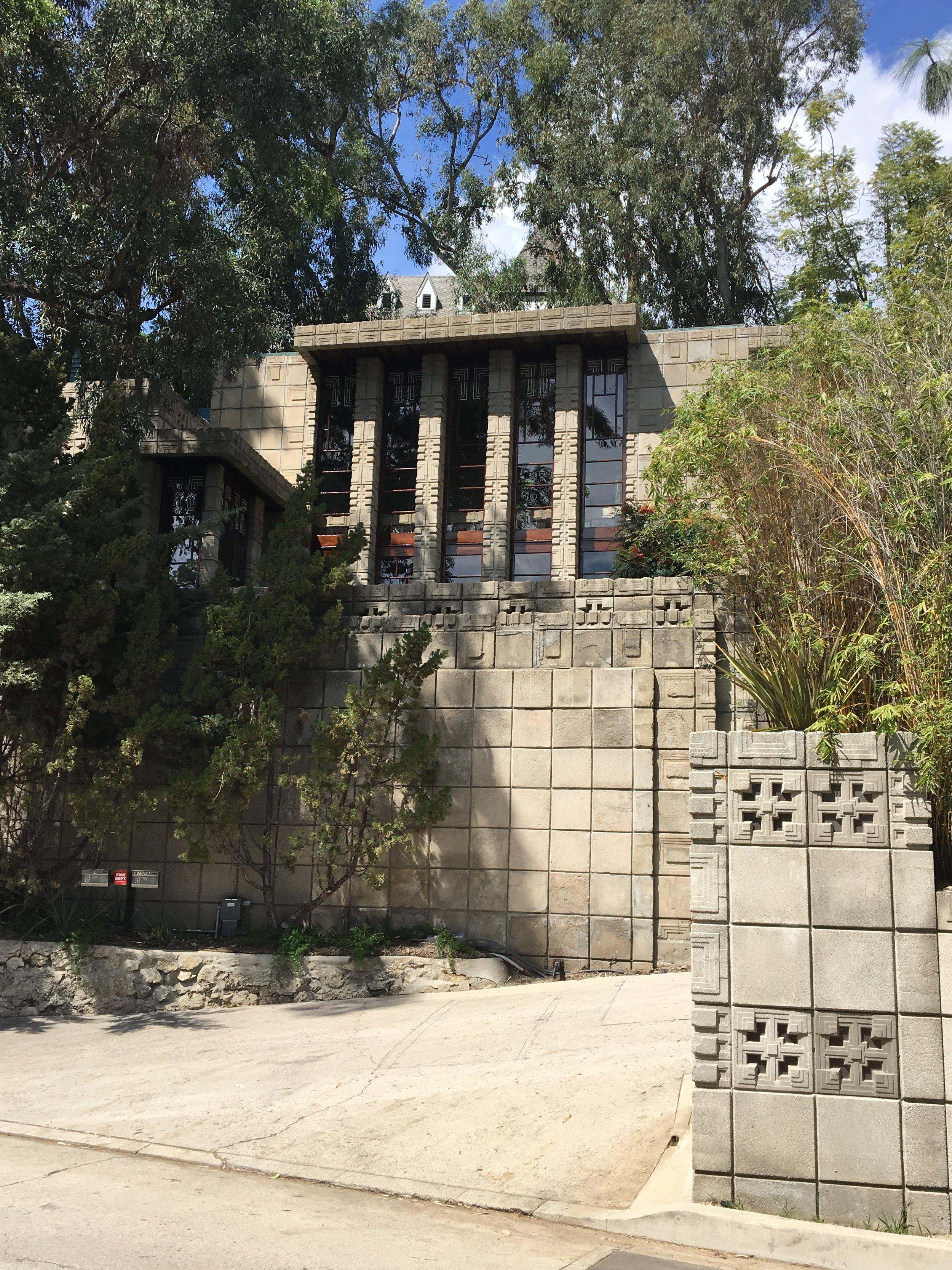 Storer House, 1923