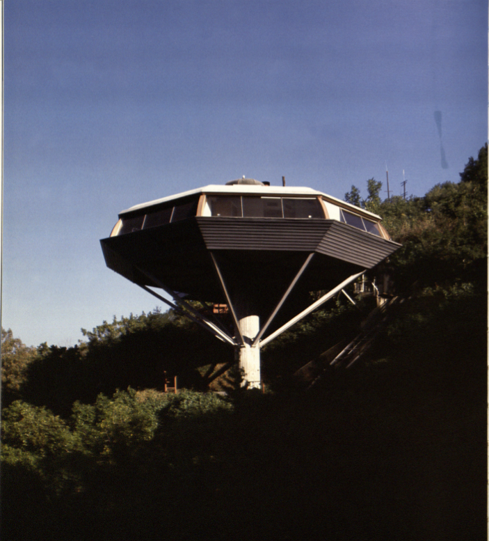 John Lautner's Chemosphere - image credit: UCLA Humanities