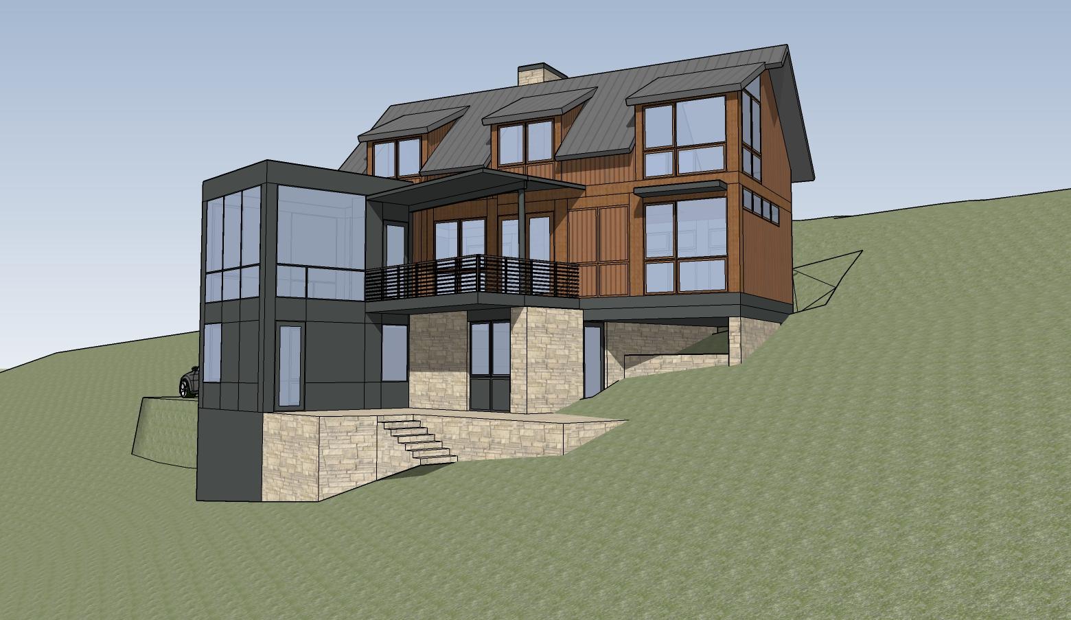 Blue Mountain Estates house