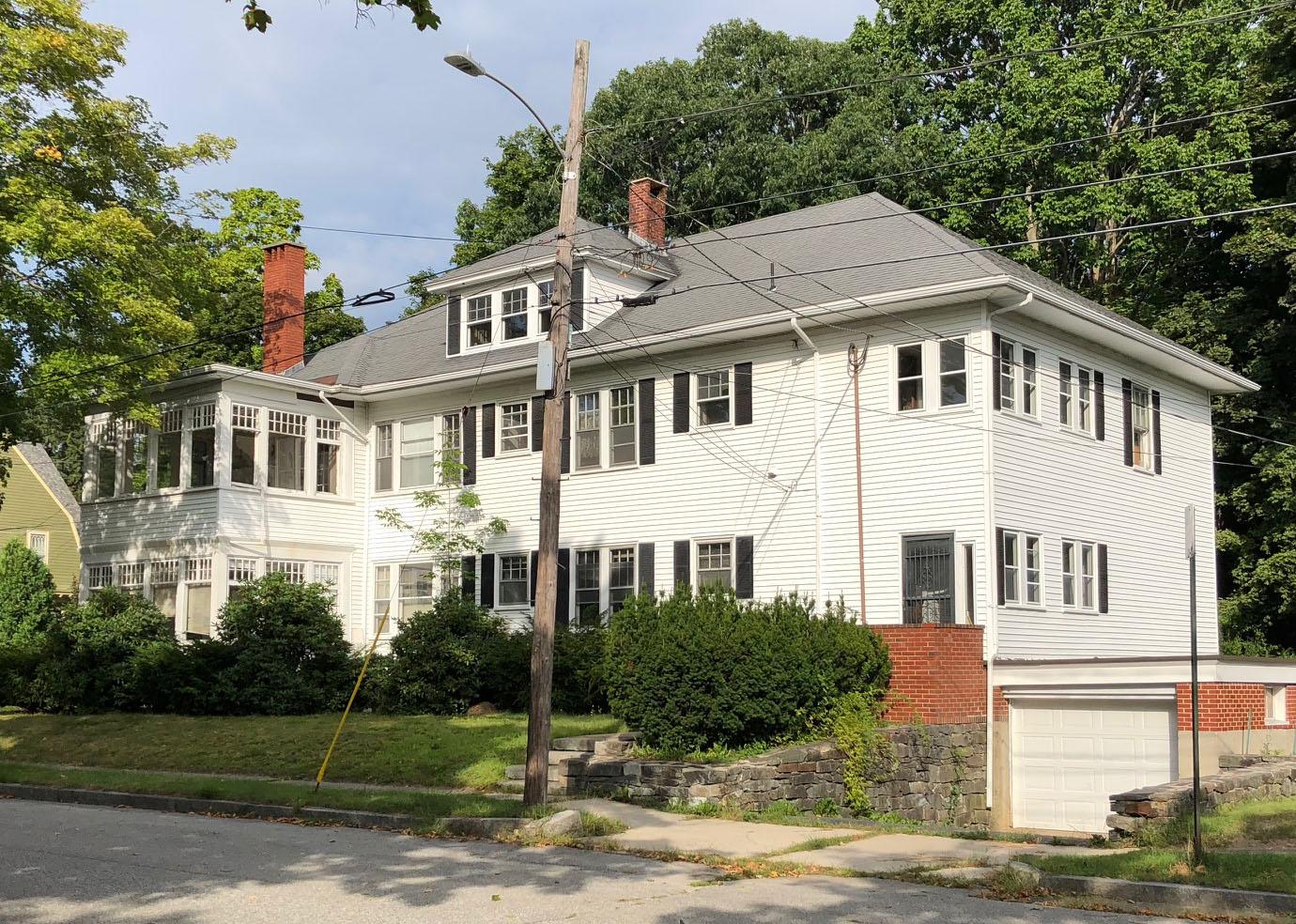 large Portland, Maine frame and siding house
