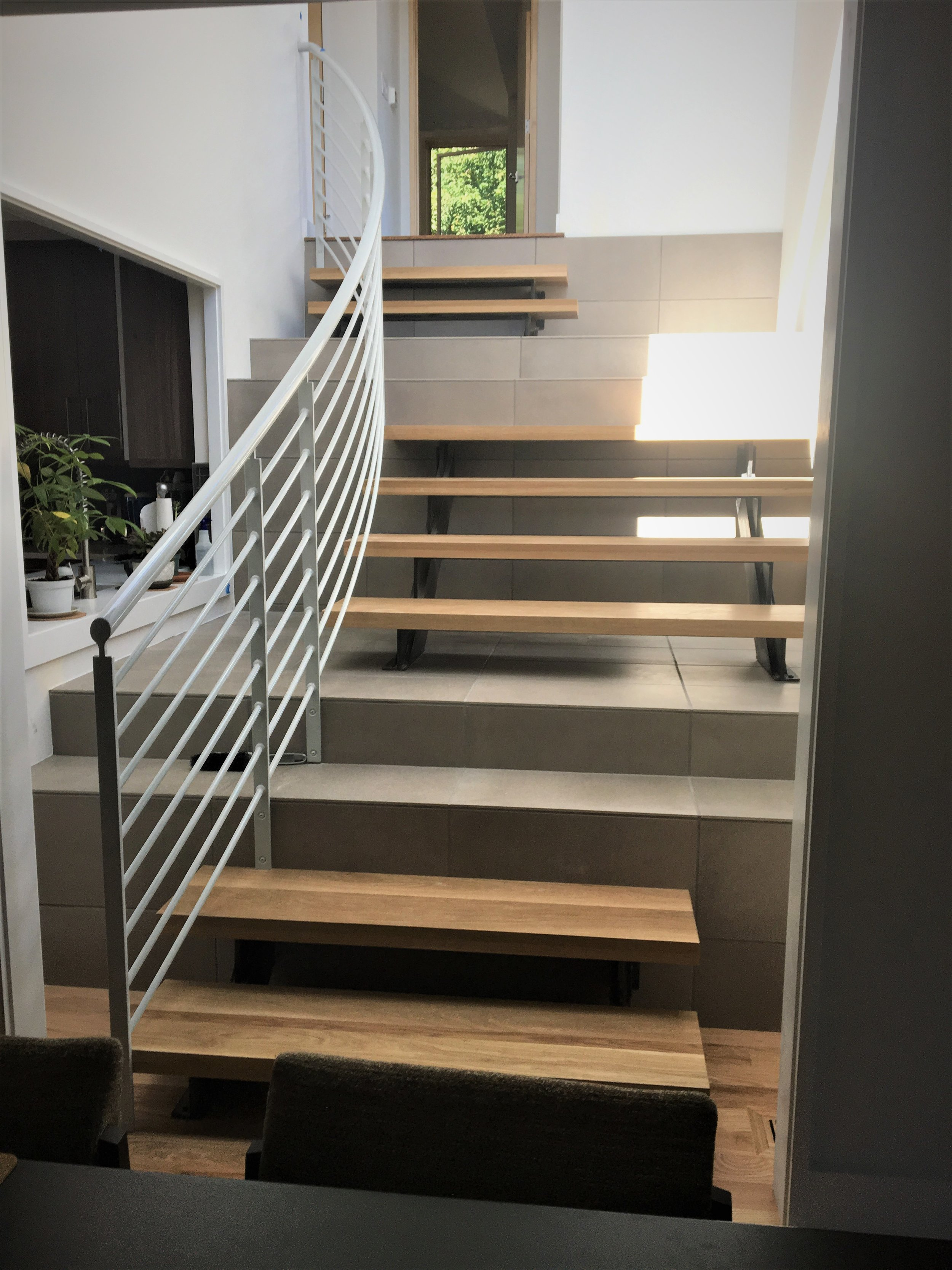 new stair tower