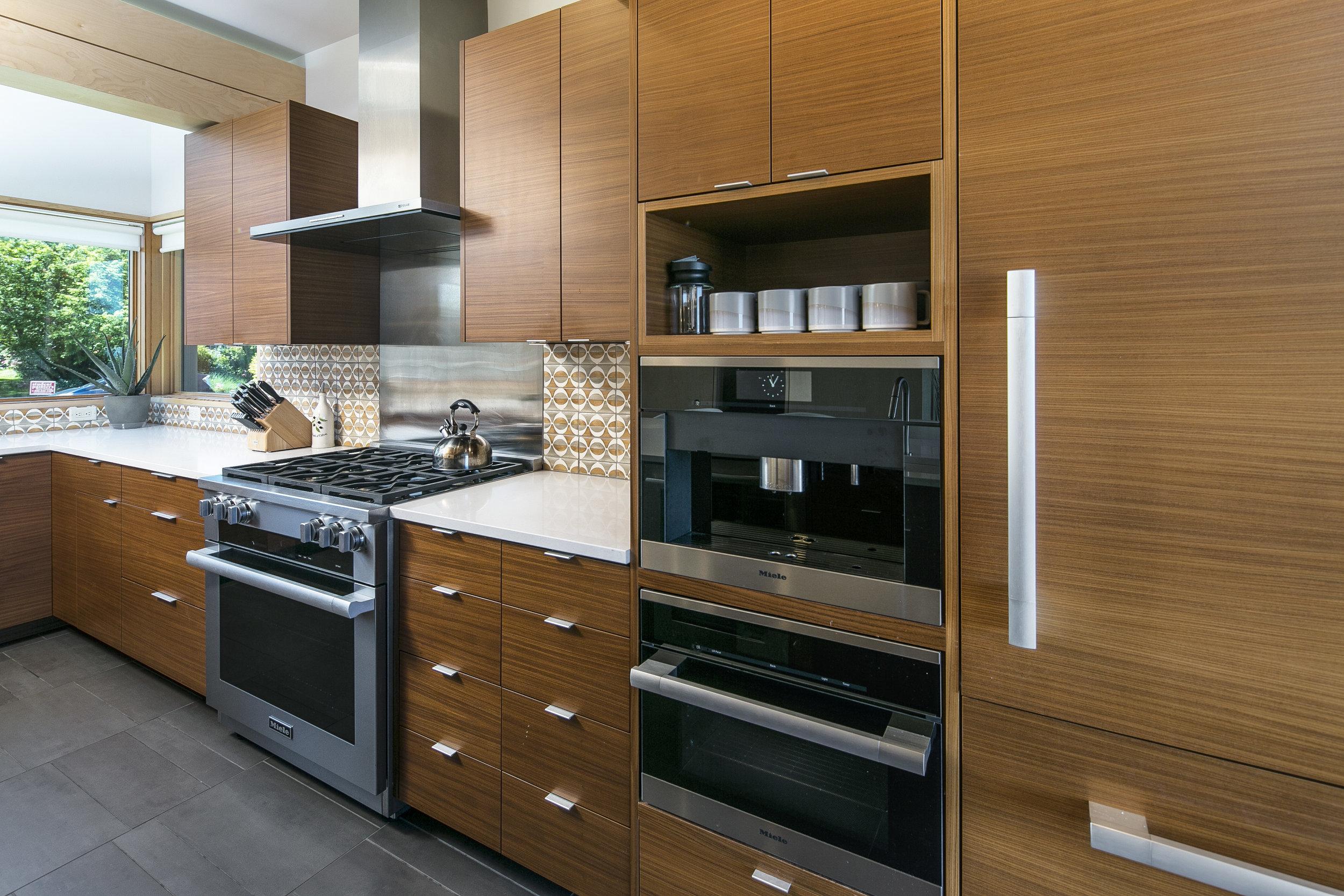 new kitchen image, upper Vassar Drive house project