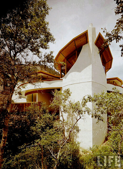 Volsky House, 1964, as seen in Life Magazine