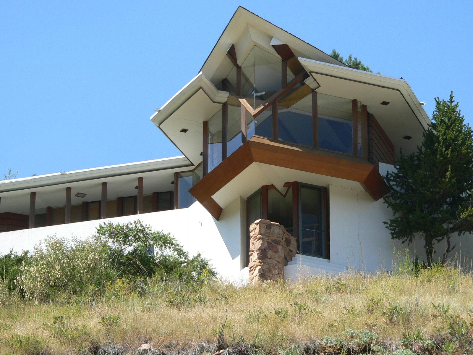 Willard House, 1963, projecting Living Room