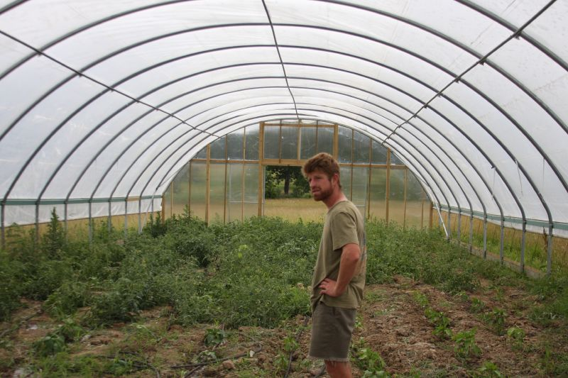Hoop House Farming