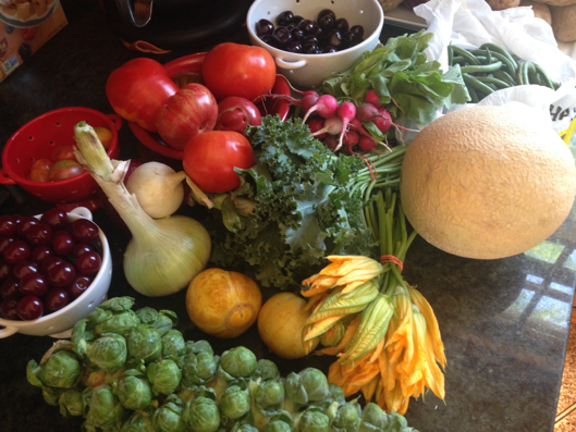 Farmer's Market Bounty