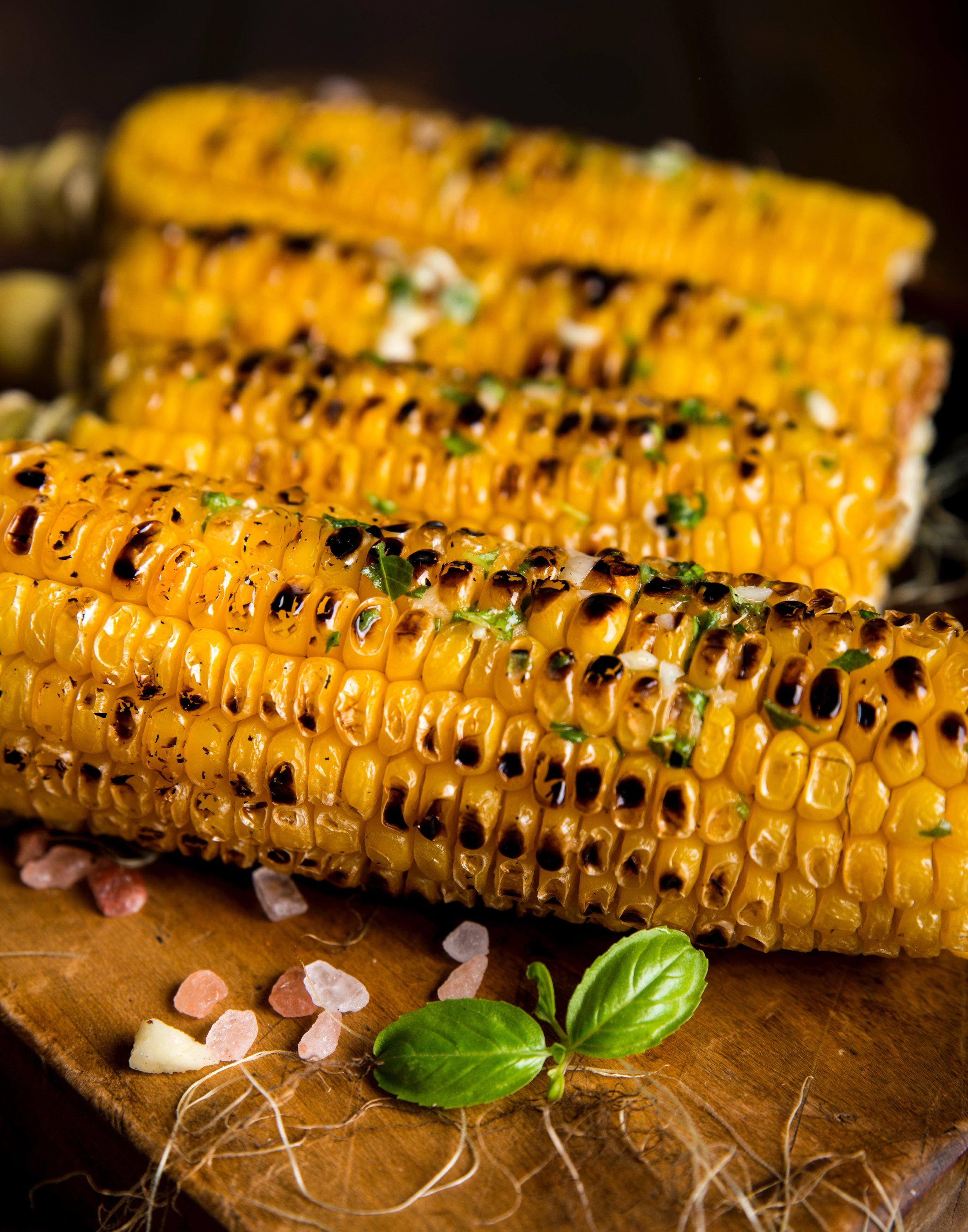 Grilled Corn Photo by  Dragne Marius  on  Unsplash