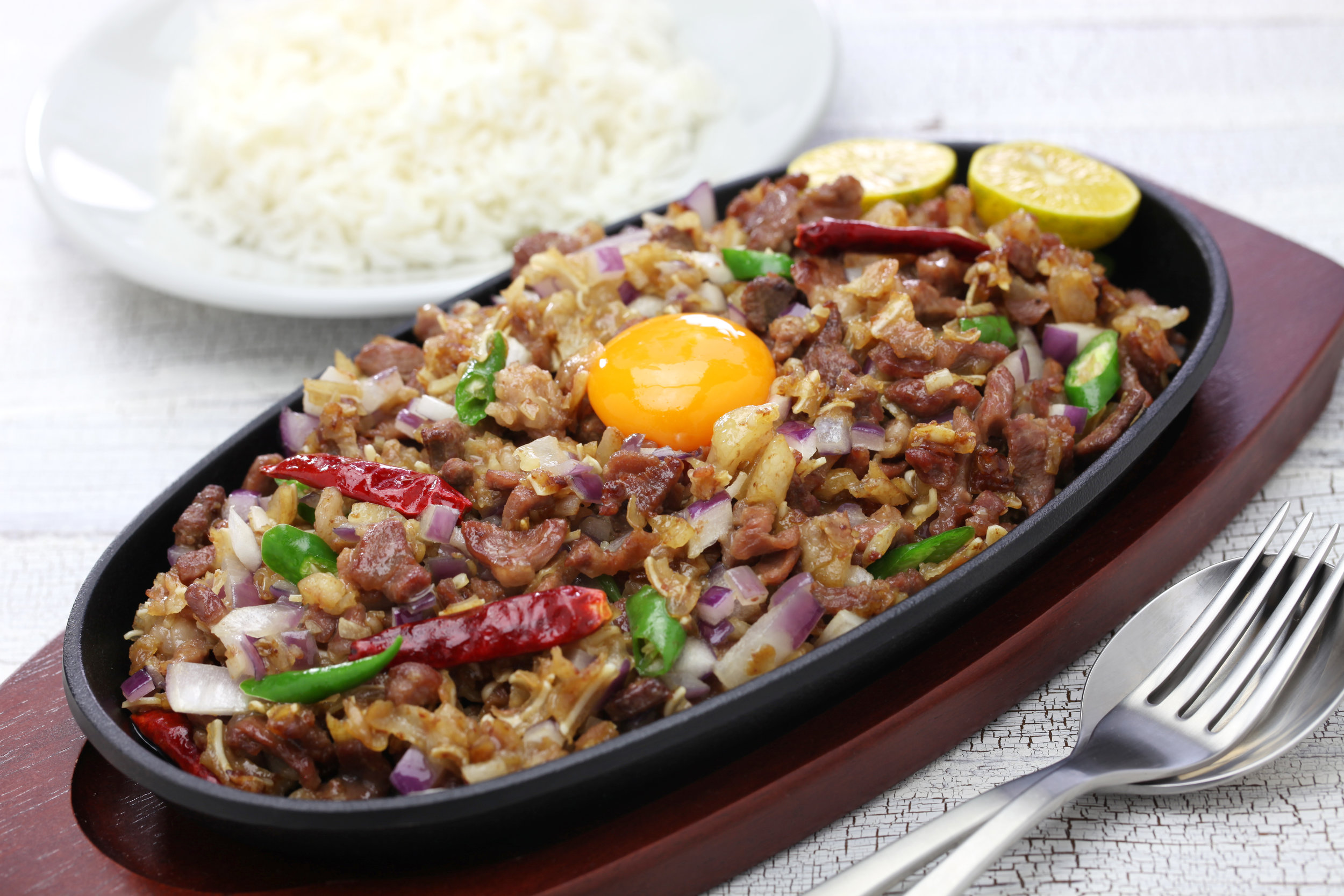 Filipino Pork Sisig