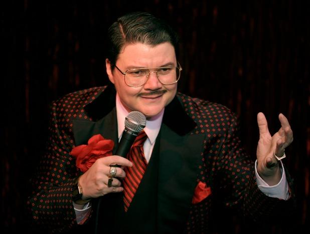 'Many drag kings gravitate towards playing the most boorish, sexist, cigar-smoking men. Murray is more cheesy than sleazy.' Photograph: Roberto Portillo/mistershowbiz.com
