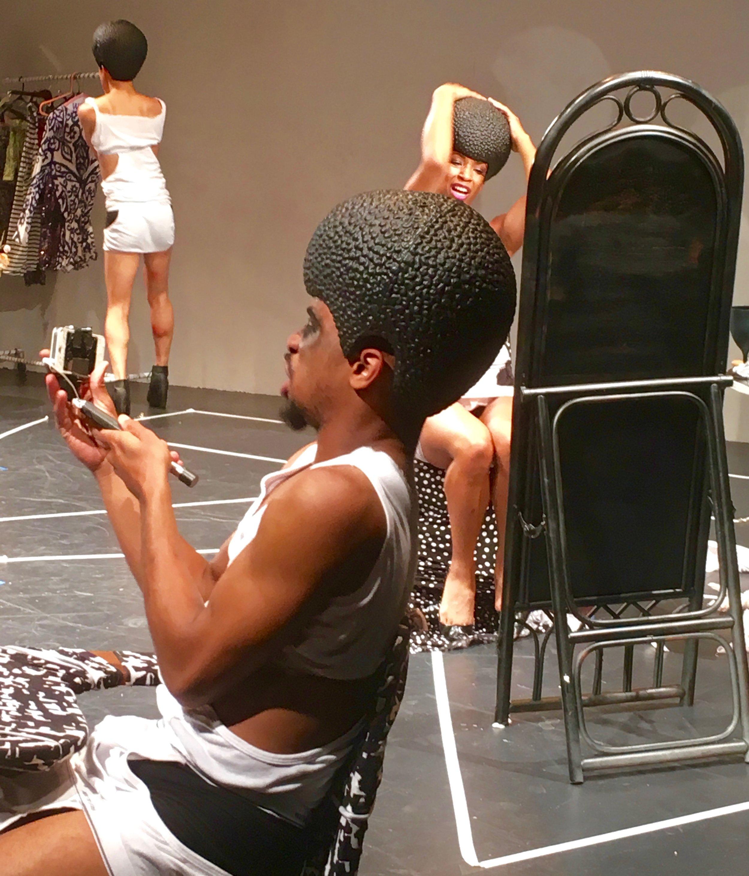 Going vogue: a performance at Dixon place. Photograph: Adrian Brune