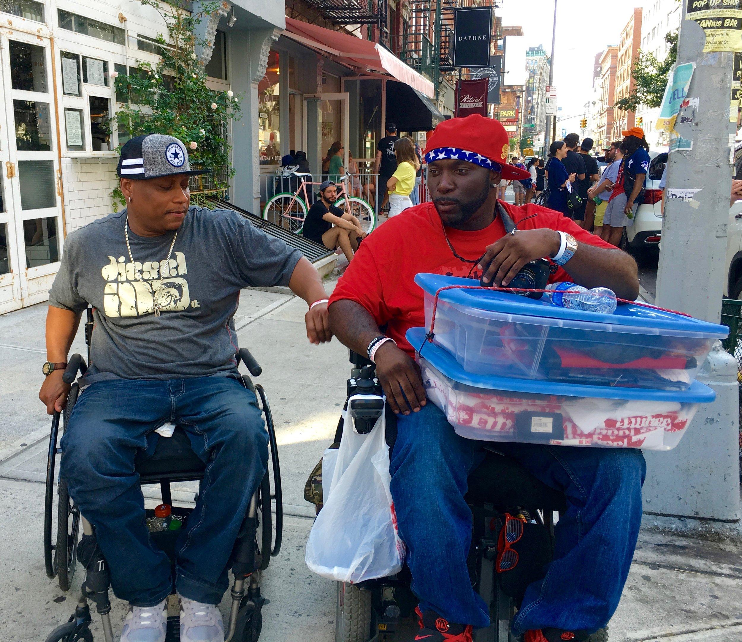 4 Wheel City in New York's Soho neighborhood. Photograph: Adrian Brune