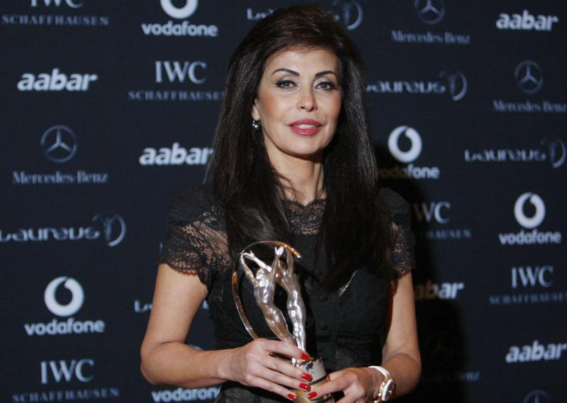 REUTERS,  May el-Khalil, the founder of the Beirut Marathon Association.
