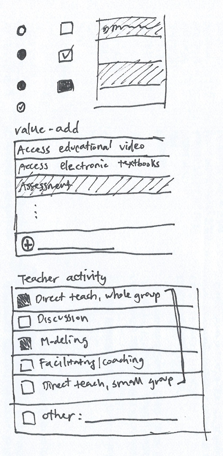 checkboxes design