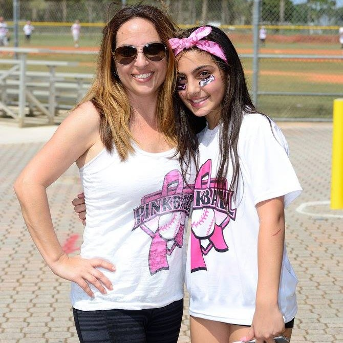 Michelle Stallone - Pink Ball Founder