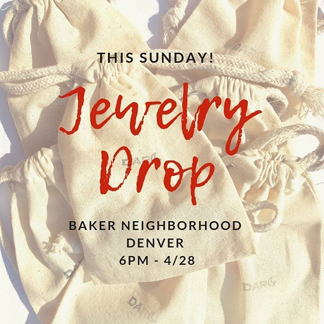 Making the most of the last week in my hood! Jewelry Drop this Sunday in Baker neighborhood at 6pm! There will be 10 mystery bags & all locations will be on my story. Let's play Denver! 🦄 . . . . . . . . . . . . . . #DarcMoon #jewelry #mala #malas #malabeads #necklaces #necklace #gemstones #accessories #intention #jewelrygram #finderskeepers #instajewelry #denverevents #meditate  #quote #handmade #freeart #colorado #yoga #artdrop #jewelrymaking #denvercolorado #mindfulness #malanecklace #findme #gemstones #denver #artisan #prayerbeads