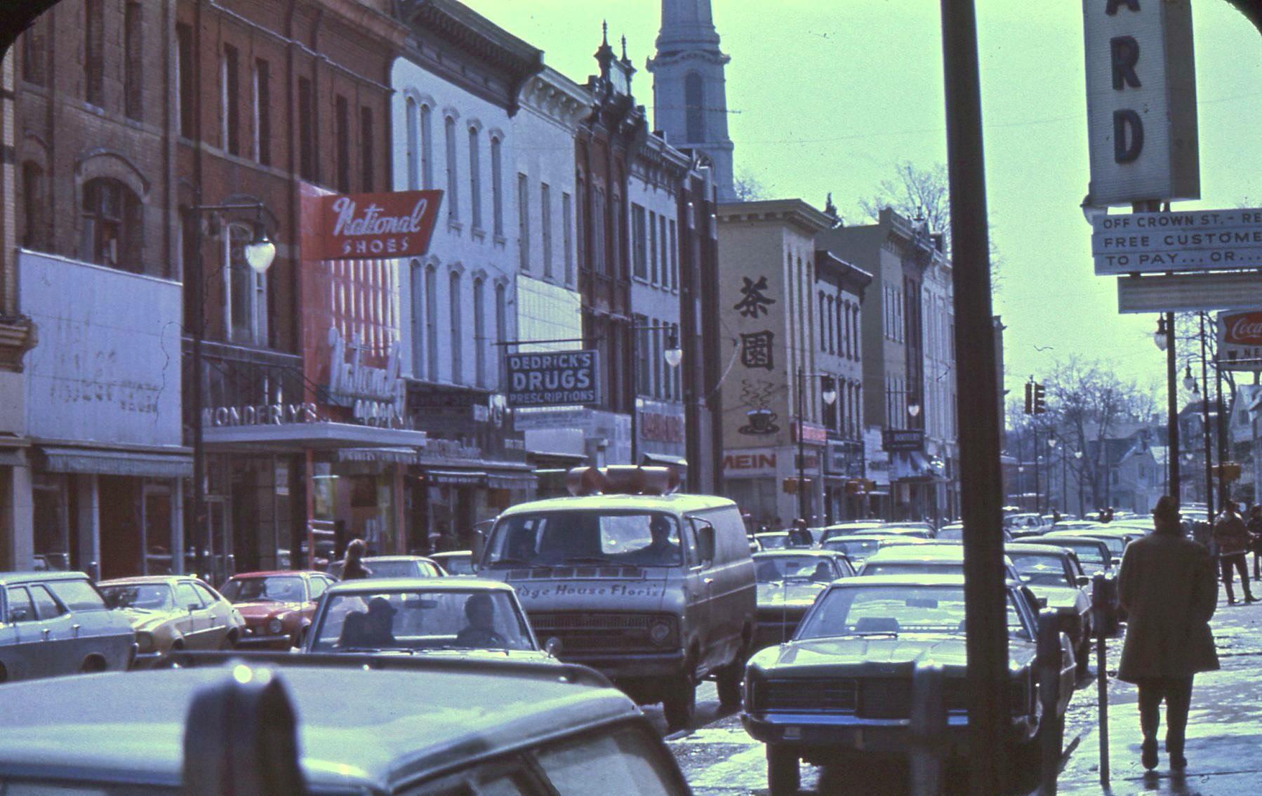 Wall Street - Kingston, NY - 1972