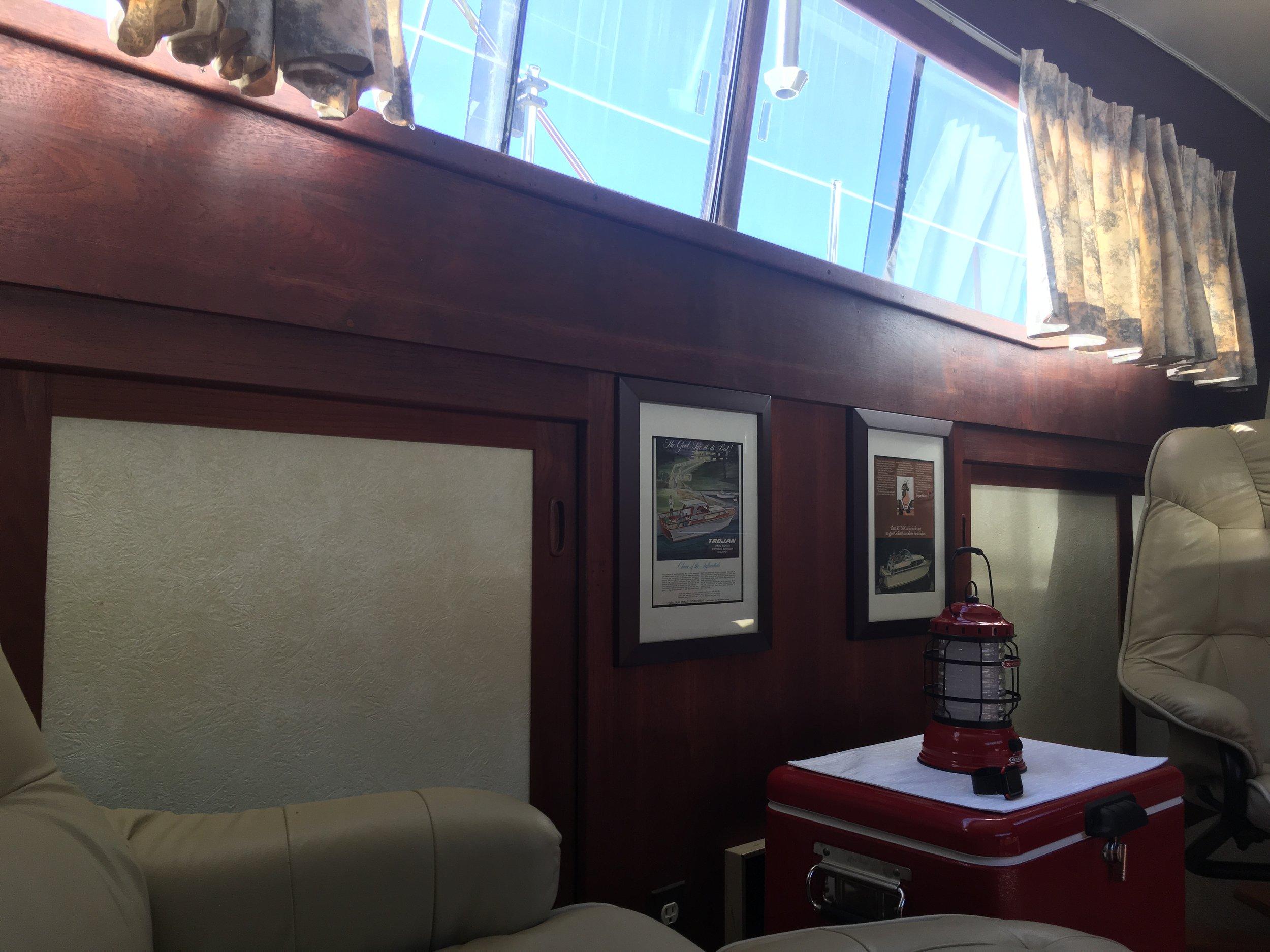 Main cabin...