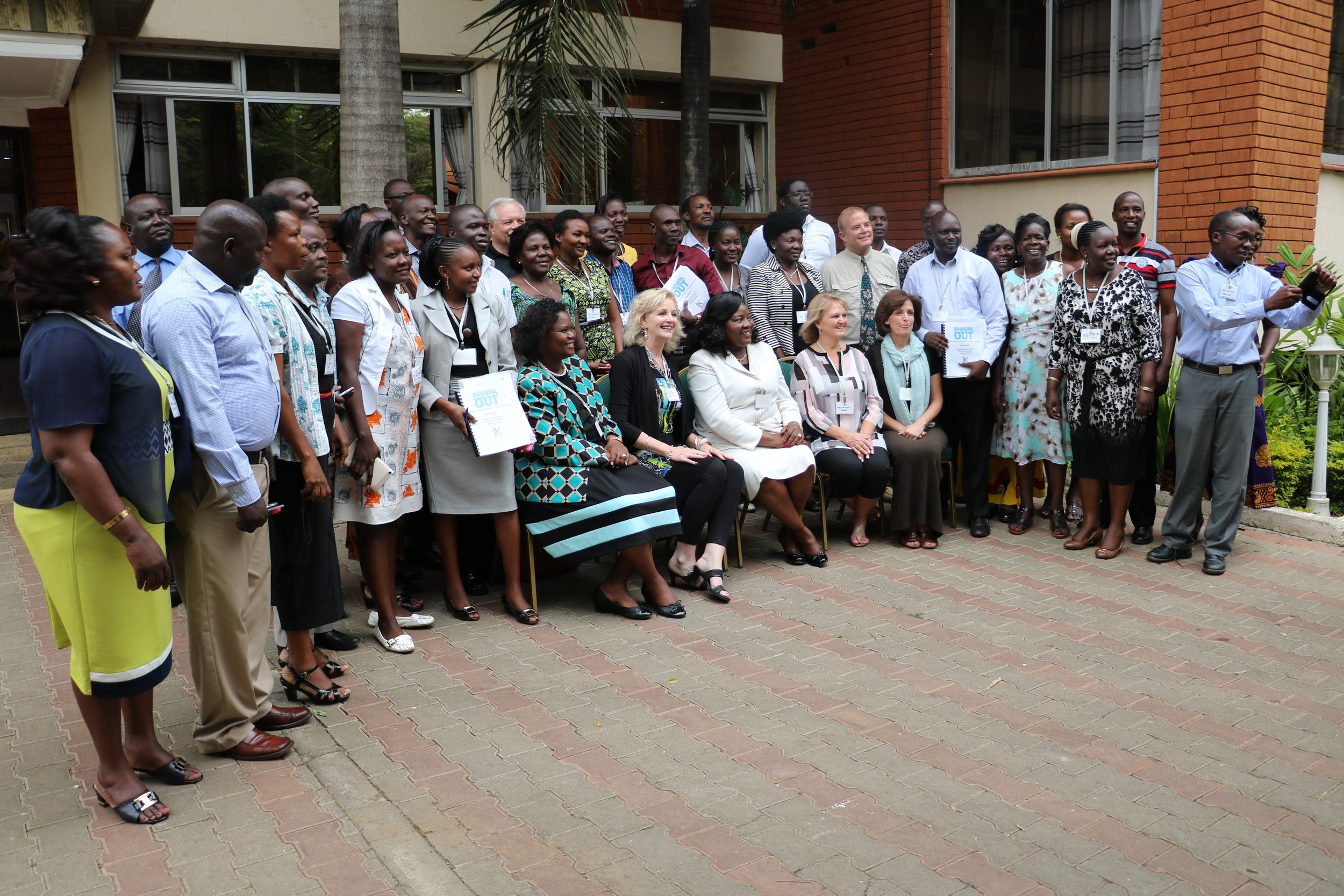 Kisumu, Kenya / 2016 Managing From The Inside Out Graduates