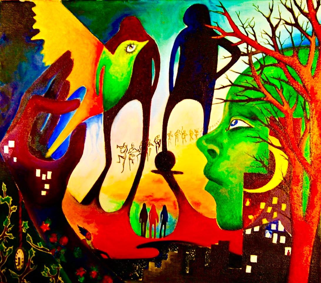 Surrealism I 2008, oils