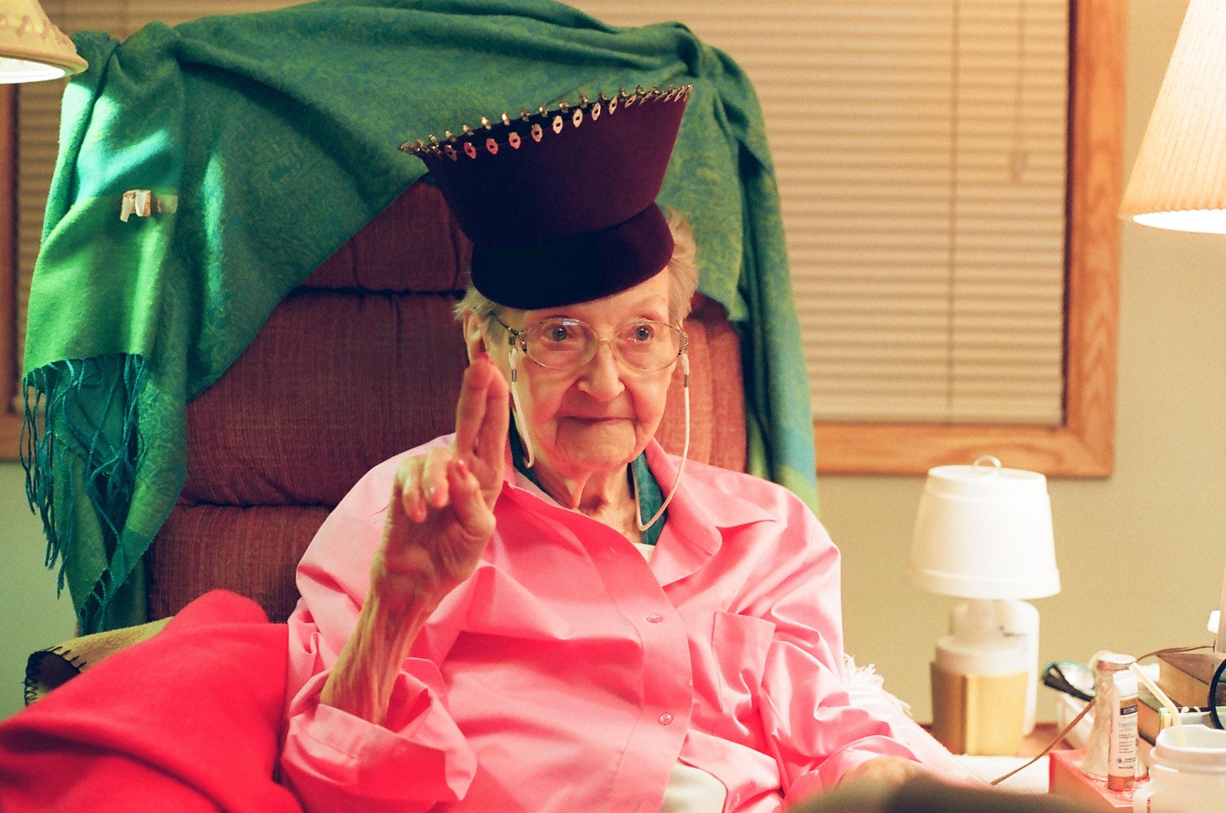 Dorothy in Hat