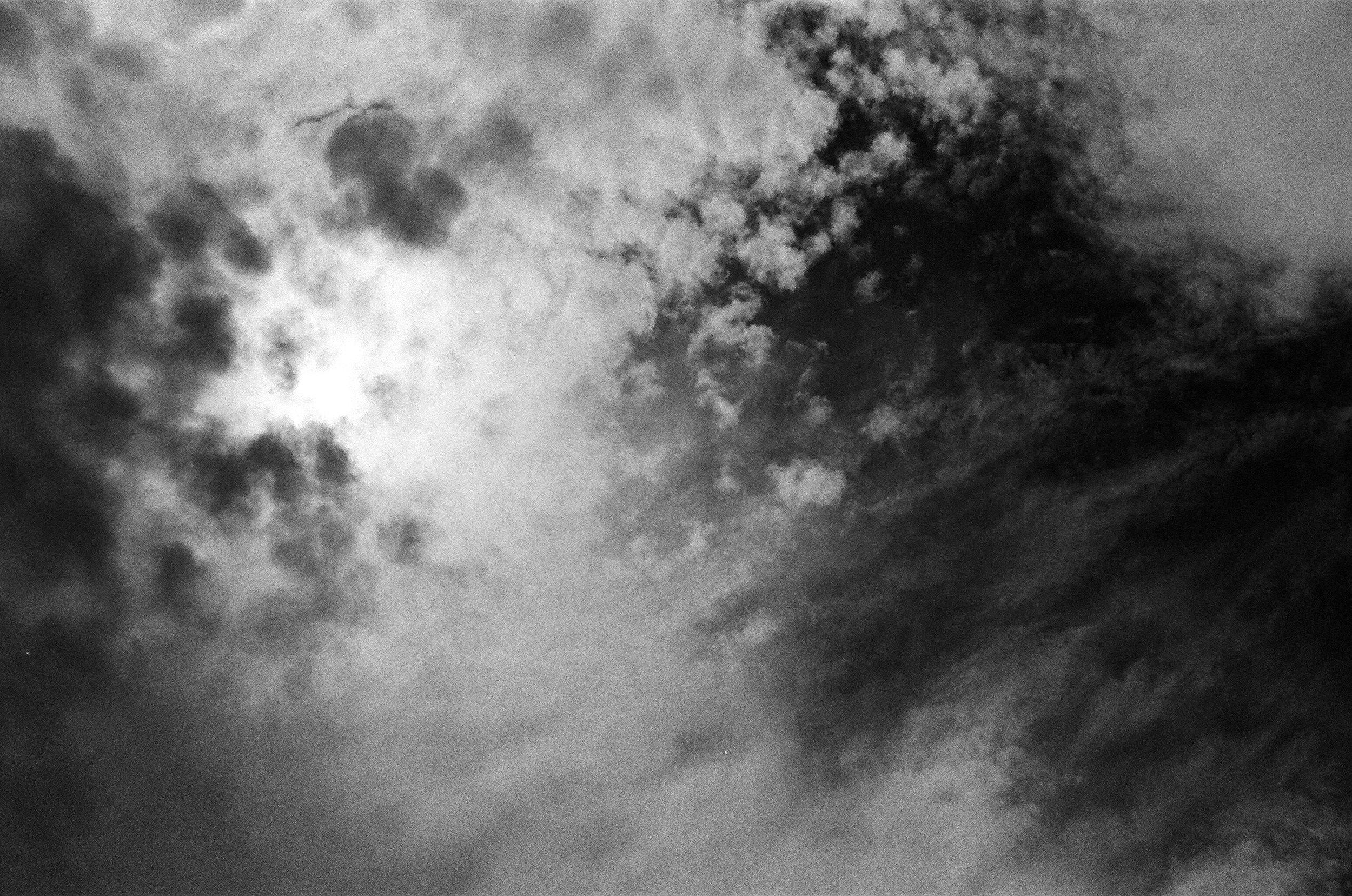 Pre-eclipse Cloud Cover, Nebraska
