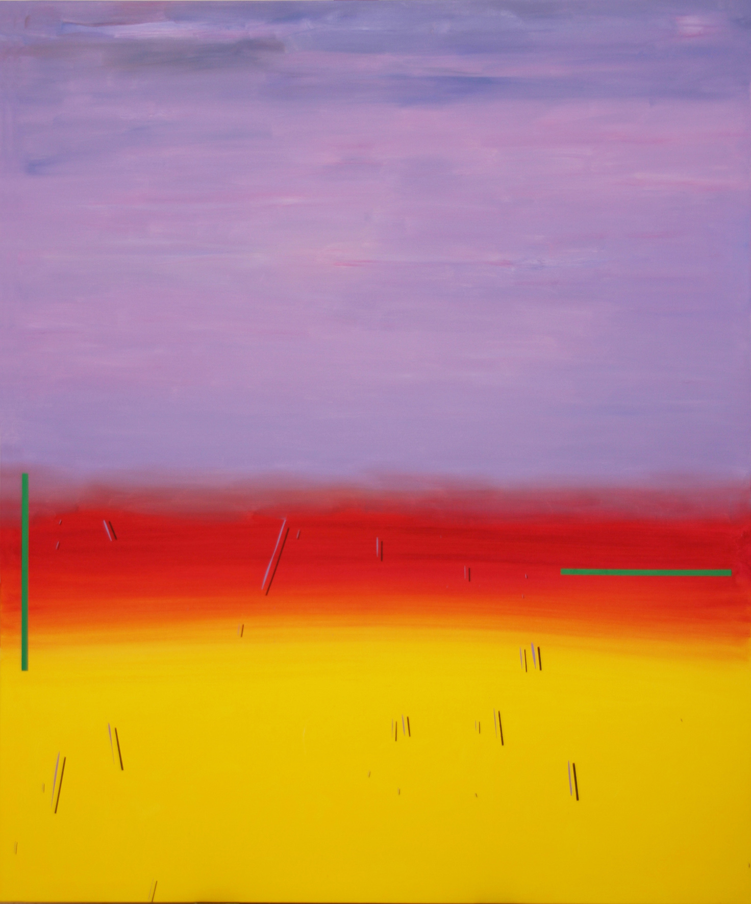 MIQUEL GELABERT, October Land I, oil on canvas, 76 x 63 in, 2016