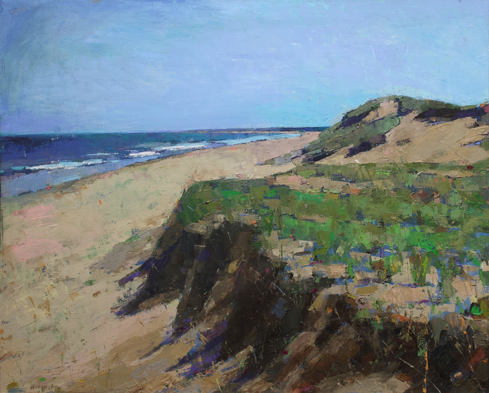 Brackley dunes, PEI, oil on canvas, 38 x 48 in, 2017