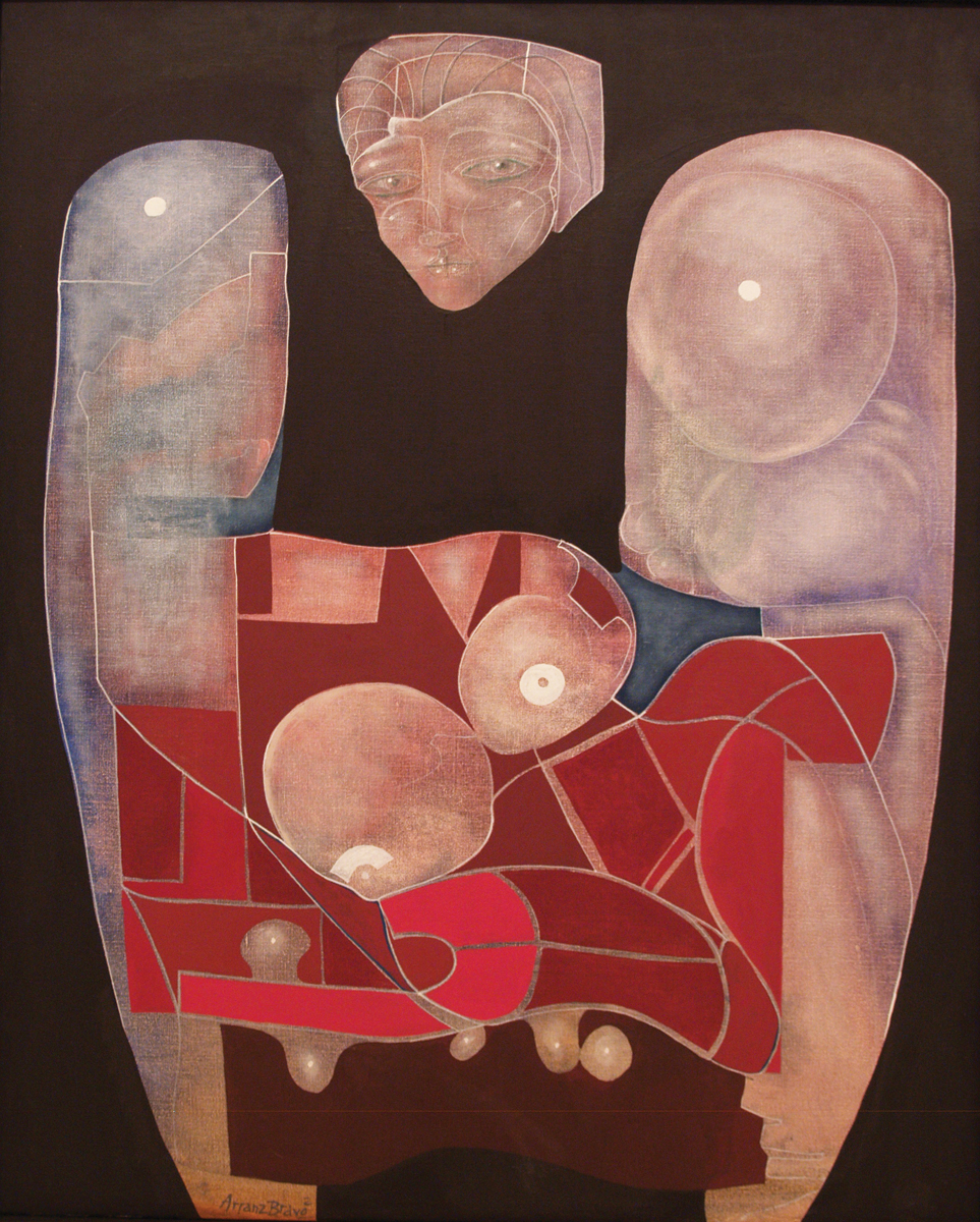 Itàlia, oil on canvas, 39 x 31.5 in, 2000