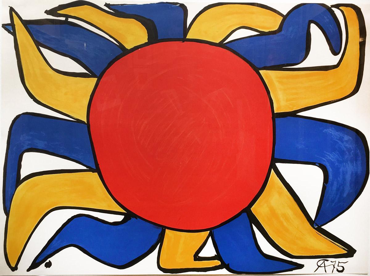 LOT 136 Alexander Calder, Our Unfinished Revolution, Untitled X