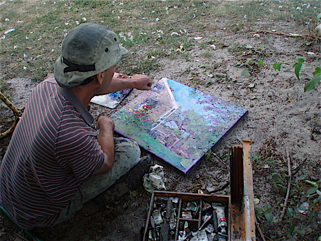 artist painting oil 4629 Charles Hawthorne House.JPG