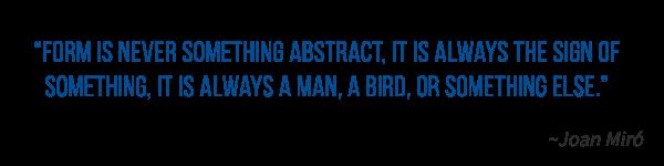 Joan Miro quote