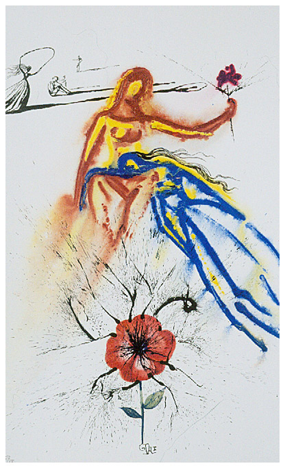 Alice in Wonderland: Alice's Evidence, heliogravure, 17 x 11.75,  unsigned 190/2500, 1969, ML 333