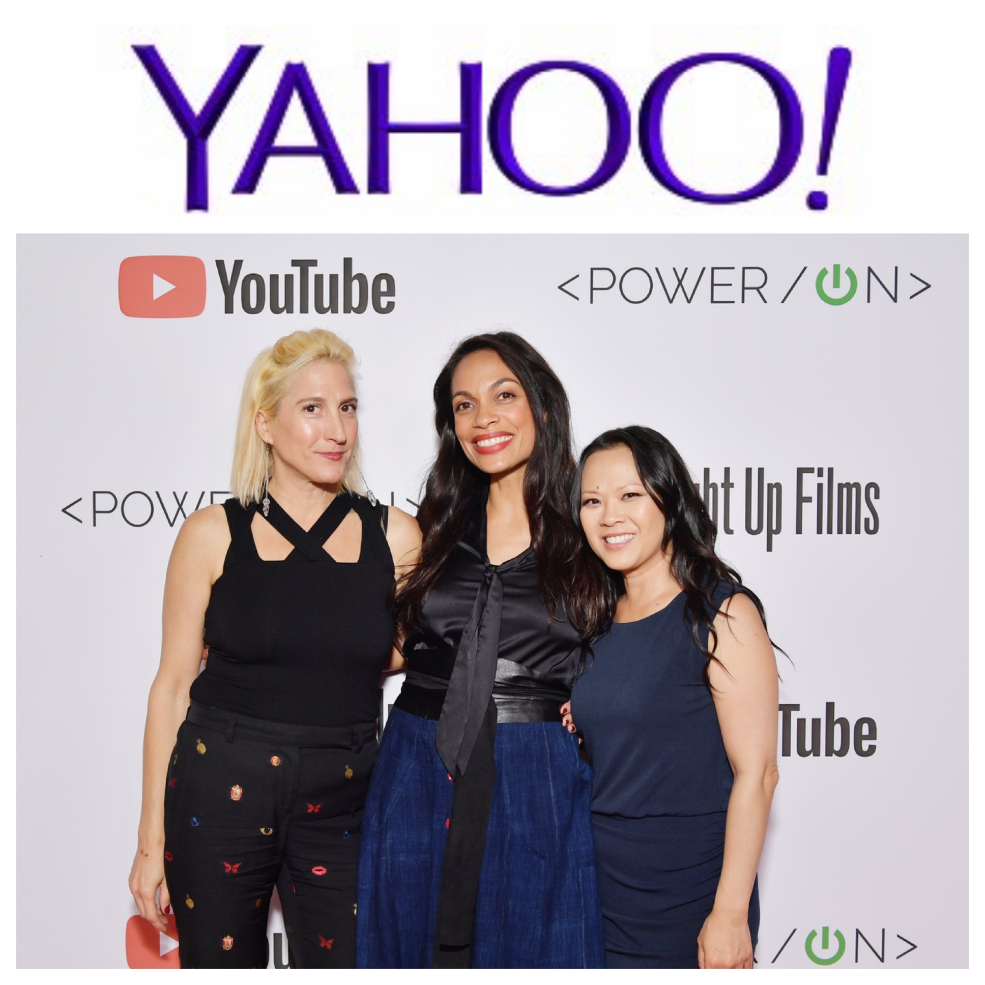 "- (Yahoo! Entertainment, April 25, 2019)Shorts Encourage Women to STEAM CareersStraight Up Films created the anthology ""Power/On"" of five shorts focused on encouraging girls in STEAM (science, technology, engineering arts and math) directed by actresses Rosario Dawson, Julie Bowen, Ana Brenda Contreras, Lisa Edelstein, and Nikki Reed. Pictured; Producers Marisa Polvino and Ngoc Nguyen here with Director Rosario Dawson. (Full Article.)"