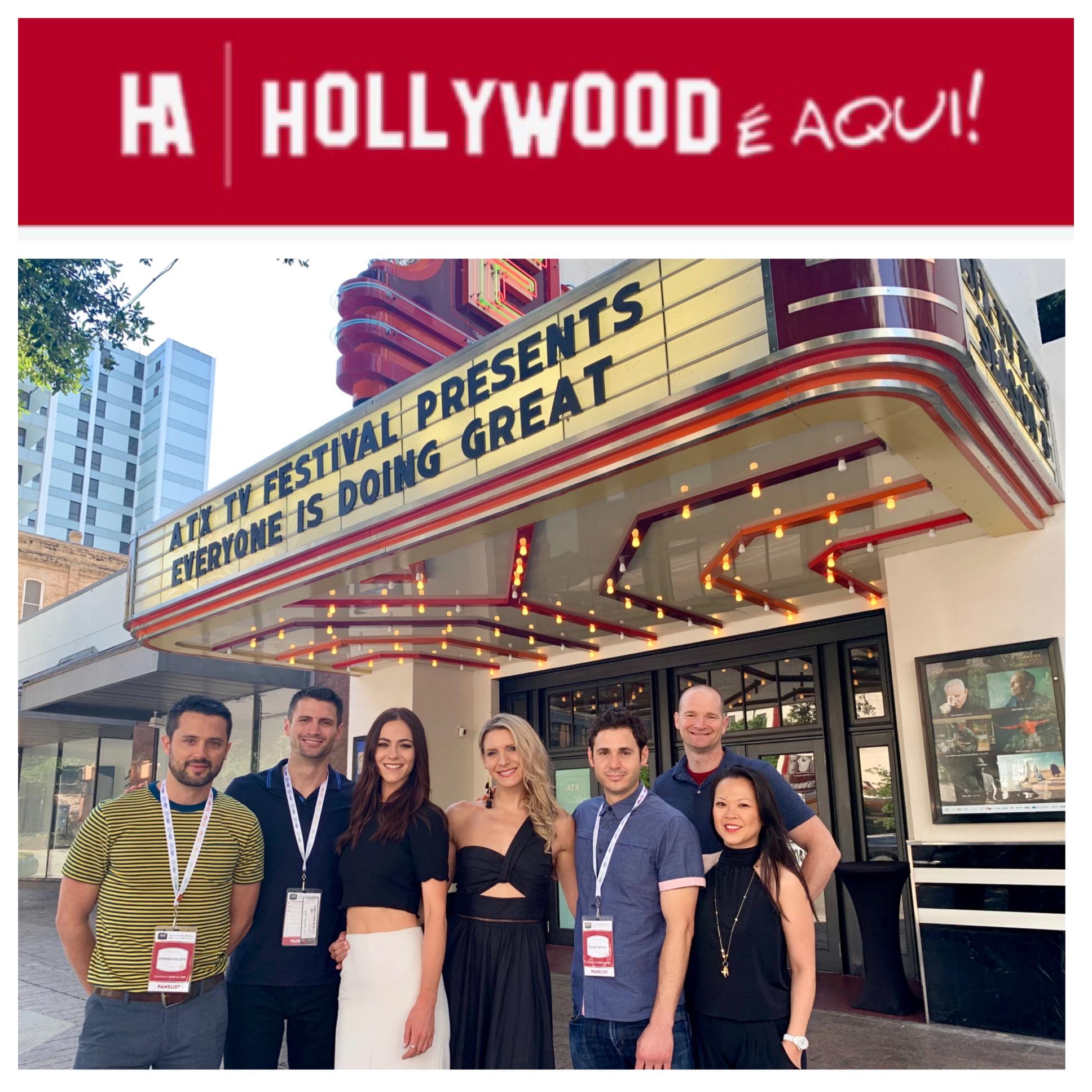"""- (Brazil) (Hollywood É Aqui, July 17, 2019) Ngoc Nguyen, 'Everyone is Doing Great' / 'Power On'Em bate-papo no ATX Festival, produtora de """"Power On"""" e """"EDG"""" fala sobre projetos e a paixão pelo trabalho."""