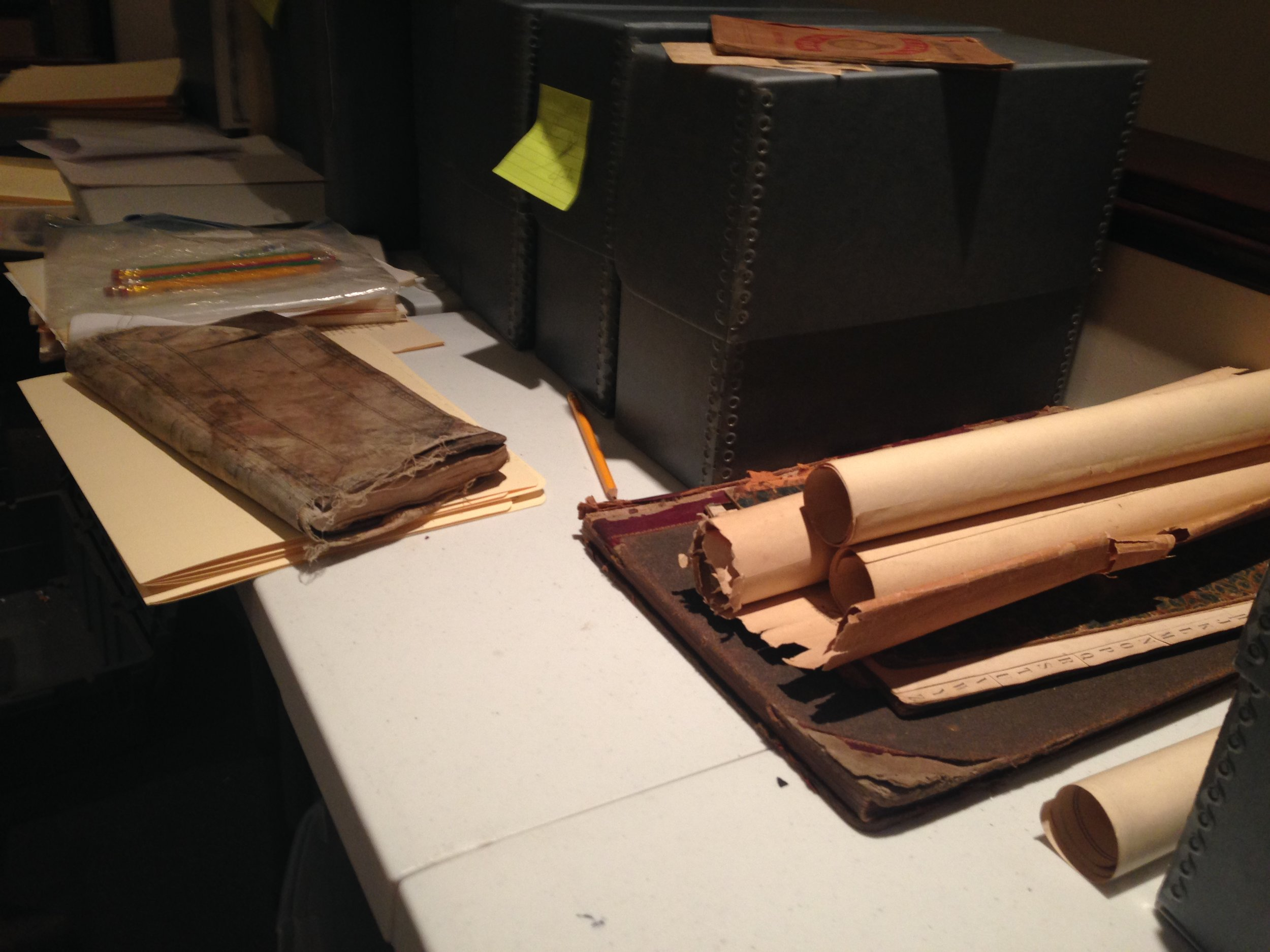 Archival records from the Frances Bibbins Latimer collection need a safe place to assemble and showcase the materials documenting the Eastern Shore's rich history.